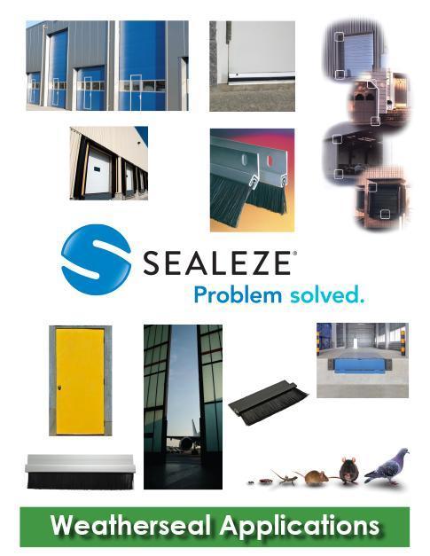 Weatherseal products weather stripping door seals - Commercial door sweeps for exterior doors ...