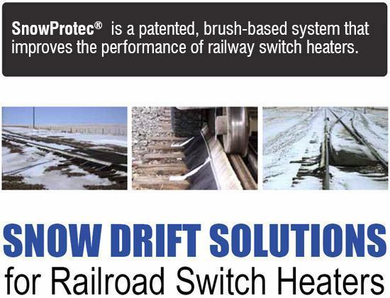 SnowProtec™ is a patented, brush-based system